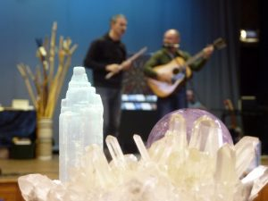Crystals & stage