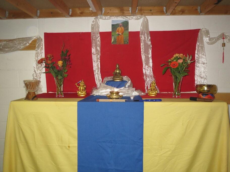 Buddha Cave at Life Arts mind body spirit festival